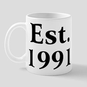 Est. 1991 Mug