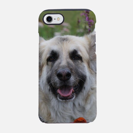 Posing in the posies iPhone 7 Tough Case