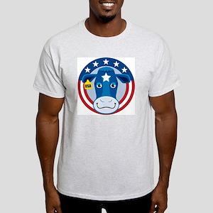 Proud Cow: Ash Grey T-Shirt