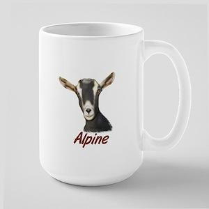 Alpine Goat Portrait Annabell Large Mug