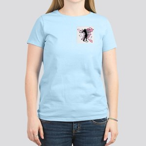 TEED OFF! GOLFER Women's Pink T-Shirt