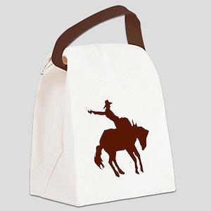 BRONC7 Canvas Lunch Bag
