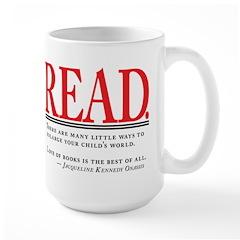 Love of Books Large Mug