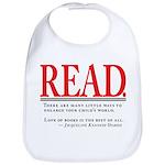 Love of Books Bib