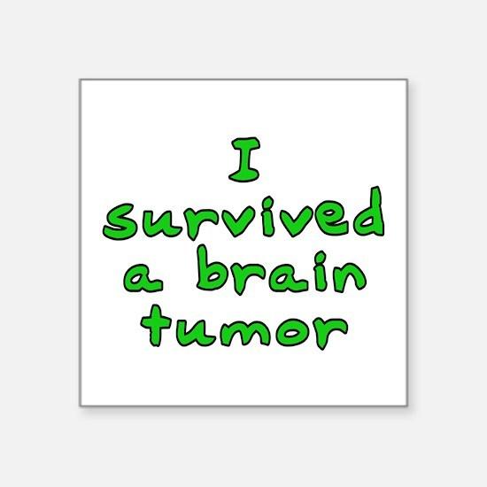"Brain tumor - Square Sticker 3"" x 3"""
