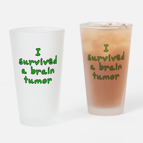 Brain tumor - Drinking Glass
