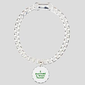 Brain tumor - Charm Bracelet, One Charm