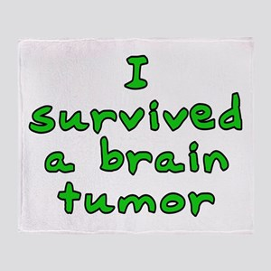 Brain tumor - Throw Blanket