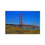 San Francisco Rectangle Magnet (10 pack)