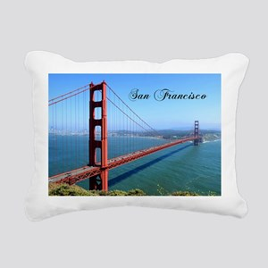 San Francisco Rectangular Canvas Pillow