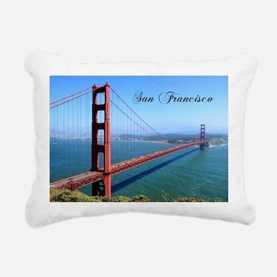 San Francisco Rectangular Canvas Pillow