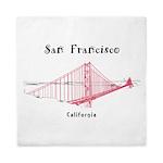 San Francisco Queen Duvet