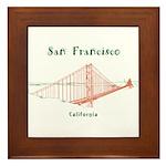 San Francisco Framed Tile