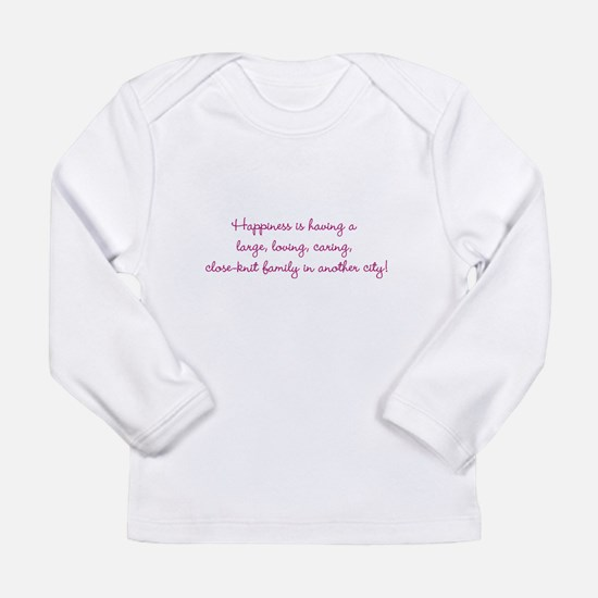 Family Happiness Long Sleeve Infant T-Shirt