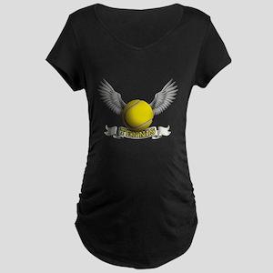 tennis Maternity Dark T-Shirt