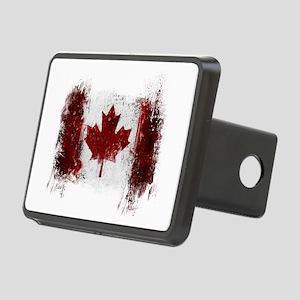 Canada Graffiti Rectangular Hitch Cover