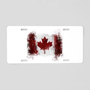 Canada Graffiti Aluminum License Plate