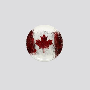 Canada Graffiti Mini Button