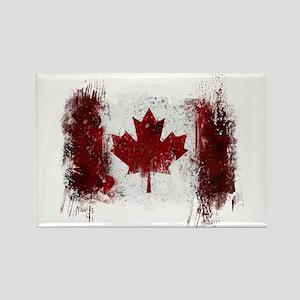 Canada Graffiti Rectangle Magnet
