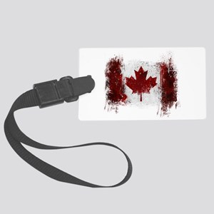 Canada Graffiti Large Luggage Tag