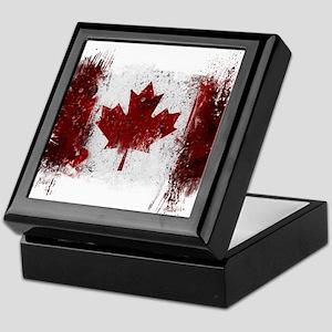 Canada Graffiti Keepsake Box