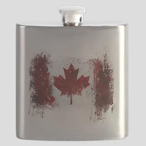 Canada Graffiti Flask