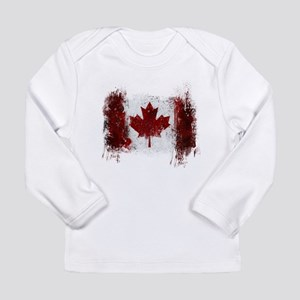 Canada Graffiti Long Sleeve Infant T-Shirt