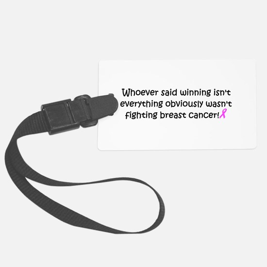 breast cancer awareness.png Luggage Tag