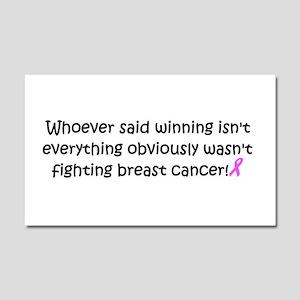 breast cancer awareness Car Magnet 20 x 12