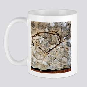 Egon Schiele Autumn Tree In The Wind Mug