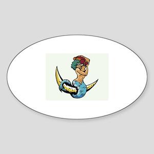 Zodiac Sticker (Oval)