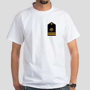 USPHS Lieutenant (jg)<BR> White T-Shirt 2