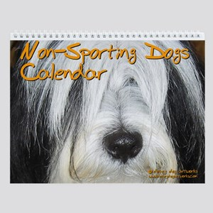 NON-SPORTING DOGS Wall Calendar