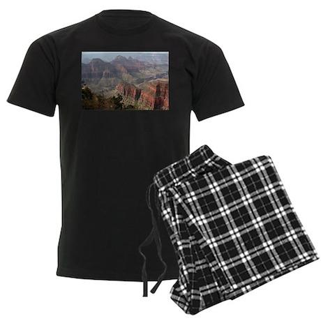Grand Canyon North Rim, Arizona Men's Dark Pajamas