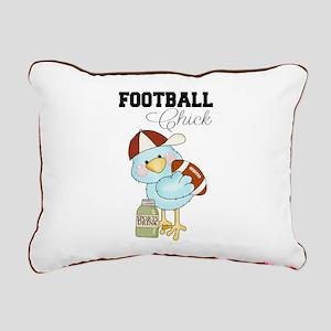 Tweeting Football Chick Pillow