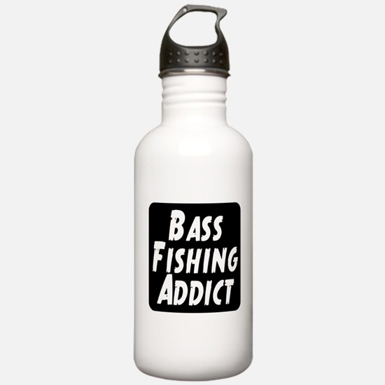 Bass Fishing Addict Water Bottle