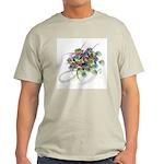 Atom Flowers #28 Light T-Shirt
