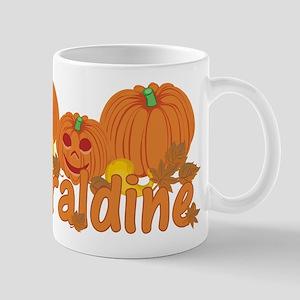 Halloween Pumpkin Geraldine Mug