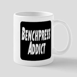 Benchpress addict Mug