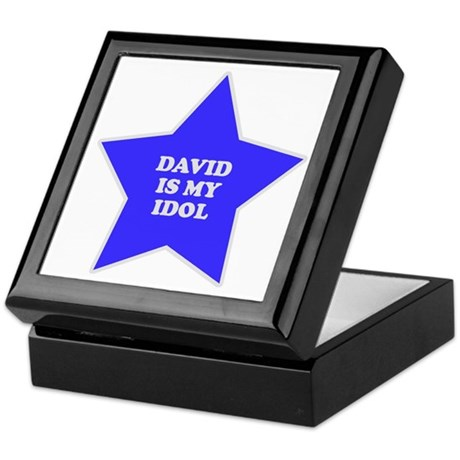 David Is My Idol Keepsake Box