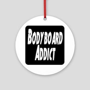 Bodyboard Addict Ornament (Round)