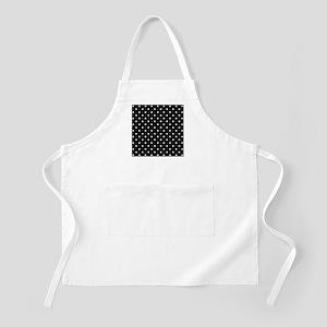 Black and White Polka Dot. Apron
