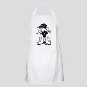 Poodle Pirate Apron