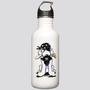 Poodle Pirate Stainless Water Bottle 1.0L