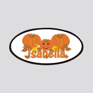 Halloween Pumpkin Isabella Patches