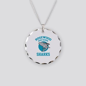 Sharks Rosewood high school Necklace Circle Charm