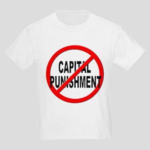 Anti / No Capital Punishment Kids Light T-Shirt