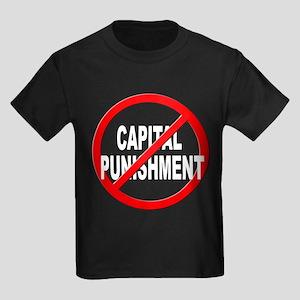 Anti / No Capital Punishment Kids Dark T-Shirt