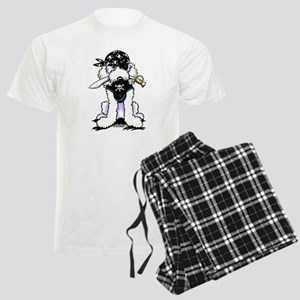 Poodle Pirate Men's Light Pajamas