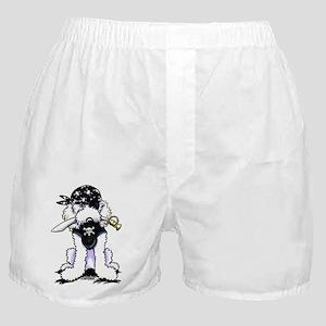 Poodle Pirate Boxer Shorts